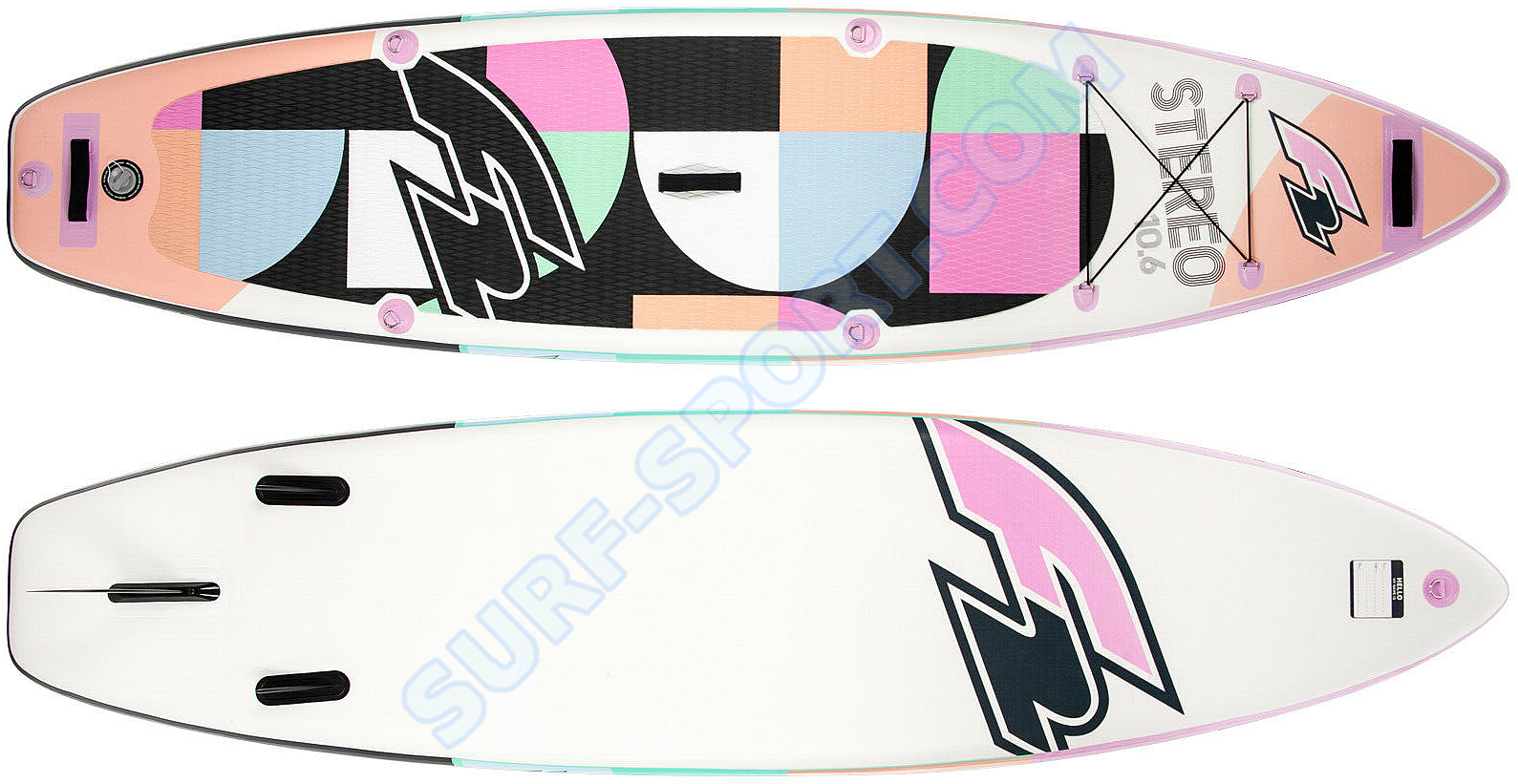 Deska Sup F2 Stereo-10.0 for women-pink-deck and bottom.png