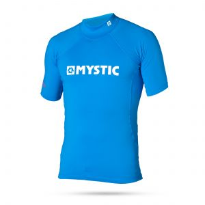 Lycra Mystic 2016 Star Rashvest Junior S/S Blue