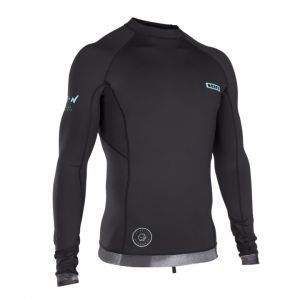 Lycra  ION Rashguard Men L/S Black 2019