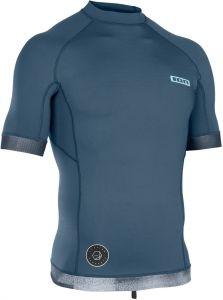 Lycra  ION Rashguard Men S/S Dust Blue 2019