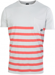Koszulka Duotone Tee SS Striped 2020 Light Gray