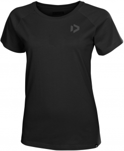Koszulka Duotone Tee SS Inside-Out Women 2019 Black