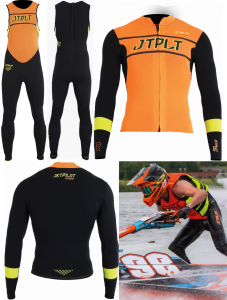 Pianka Na Skuter Kombinezon Jet Pilot Matrix Race RX John/Jacket 2020 Black/Orange