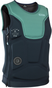 Kamizelka Do Wakeboardu Ion Collision Vest Amp SZ 2019 - Sea Green/Dark Blue