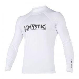 Lycra Mystic Star Rashvest Junior L/S White 2020