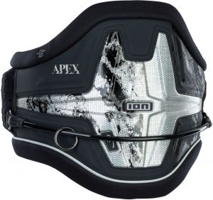 Trapez Do Kitesurfingu  ION Apex 8 Kite Waist Harness 2021 - Black
