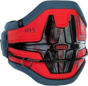 Trapez Do Kitesurfingu  ION Apex 8 Kite Waist Harness 2021 - Red