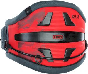 Trapez Do Kitesurfingu  ION Riot 9 Kite Waist Harness 2021 - Red