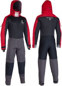 Pianka-Suchy Kombinezon-ION Fuse Dry Suit 4/3 2020 Black/Red