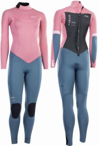 Pianka Damska ION Amaze Core Semidry 5/4 Back Zip DL 2021- Dirty Rose