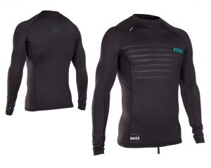 Lycra  ION Rashguard Men L/S Black 2018