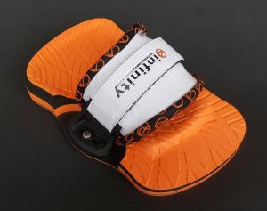 Pady + Footstrapy Infinity Pro 2018 White/Orange