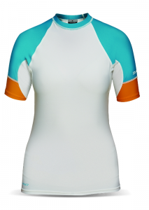 Lycra Damska Dakine Womens Flow SSL White