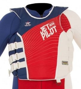 Kamizelka Jet Pilot Matrix Pro Nylon Vest 2018 Red/Blue