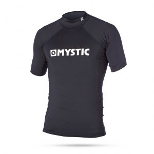 Lycra Mystic Star Rashvest Junior S/S Black 2020