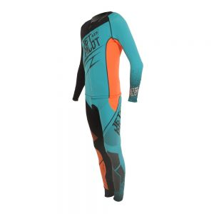 Pianka Na Skuter Jet Pilot Matrix 3 John/Jacket 2017 Teal/Orange
