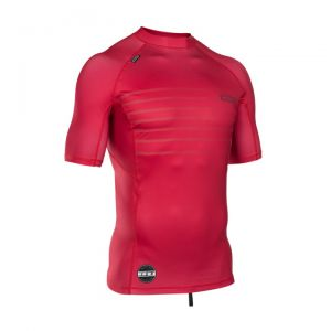 Lycra  ION Rashguard Men S/S Neon Cherry 2018